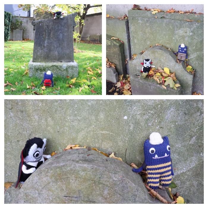 No Vampires near the Gravestones - CrawCrafts Beasties