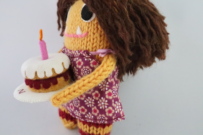 Birthday Party Dress - CrawCrafts Beasties