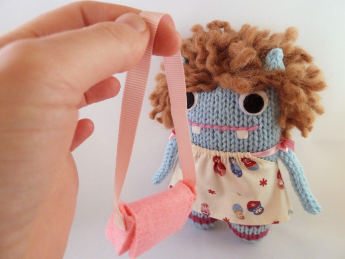 Holly Gets a Bag - CrawCrafts Beasties