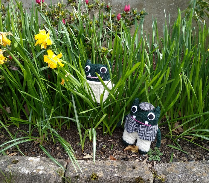 Paddy Plunkett Daffodils - Spring Break - CrawCrafts Beasties