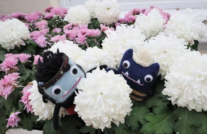 Beastie Floral Arrangement - Kew Gardens - CrawCrafts Beasties