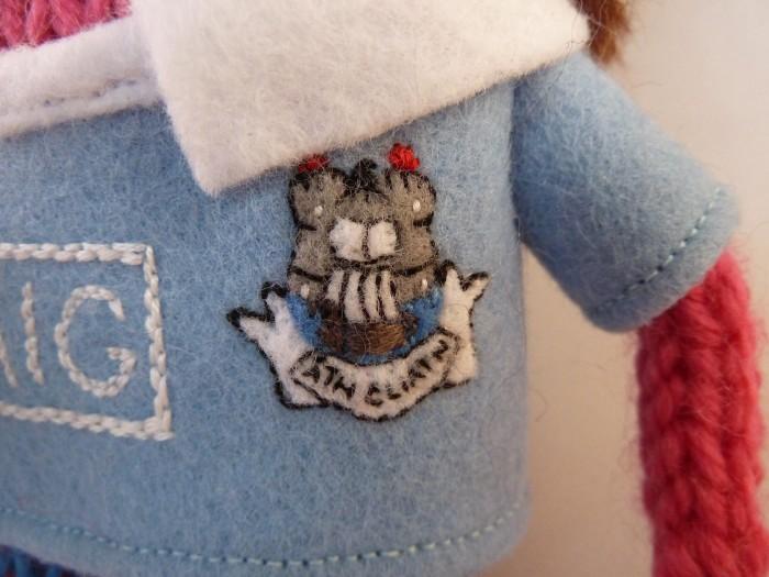 Dublin GAA Crest Closeup - CrawCrafts Beasties
