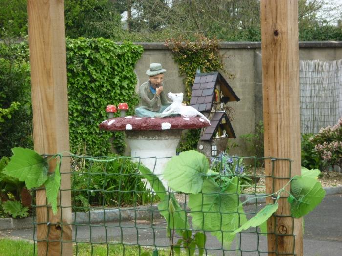 Welcoming Leprechaun in Cullybackey - Paddy and Plunkett - CrawCrafts Beasties