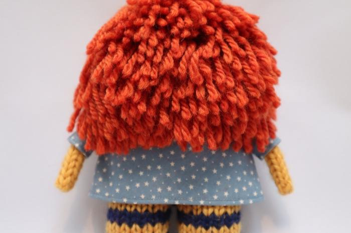 Lovely Red Beastie Hair - CrawCrafts Beasties