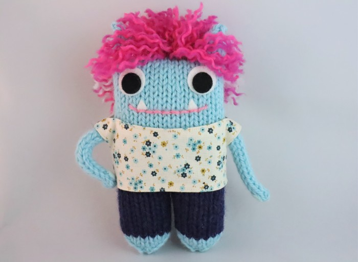 New Beastie Outfit - Floral Top - CrawCrafts Beasties