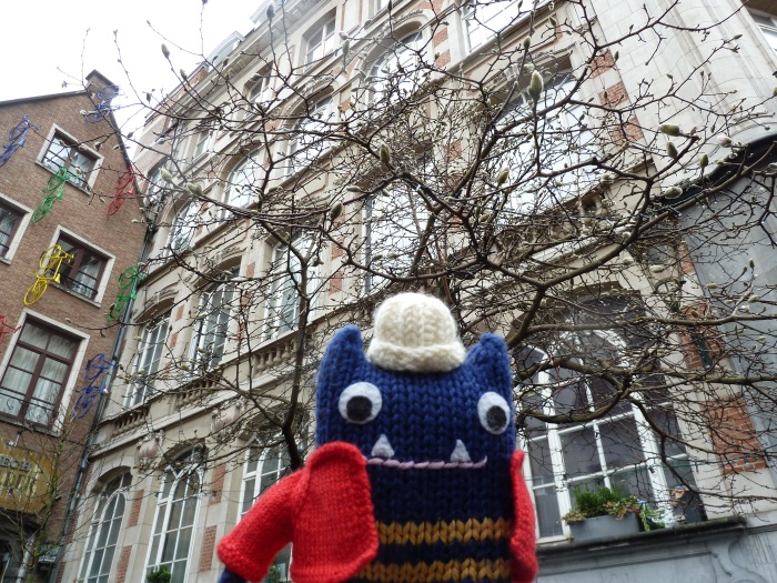 First Signs of Spring in Brussels - CrawCrafts Beasties