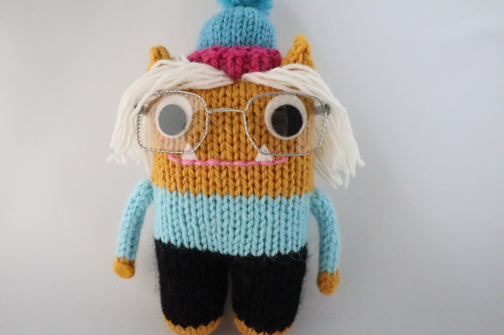 A Different Outfit - Hiker Beastie - CrawCrafts Beasties