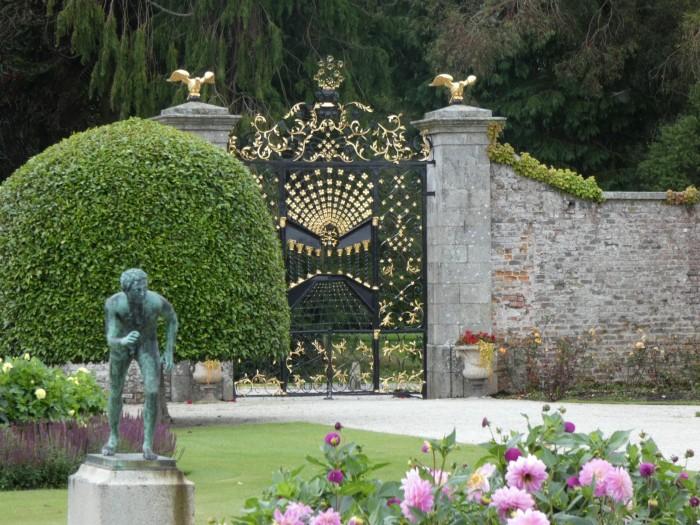 The Bamberg Gate, Powerescourt Estate Gardens - B Crawford/CrawCrafts Beasties