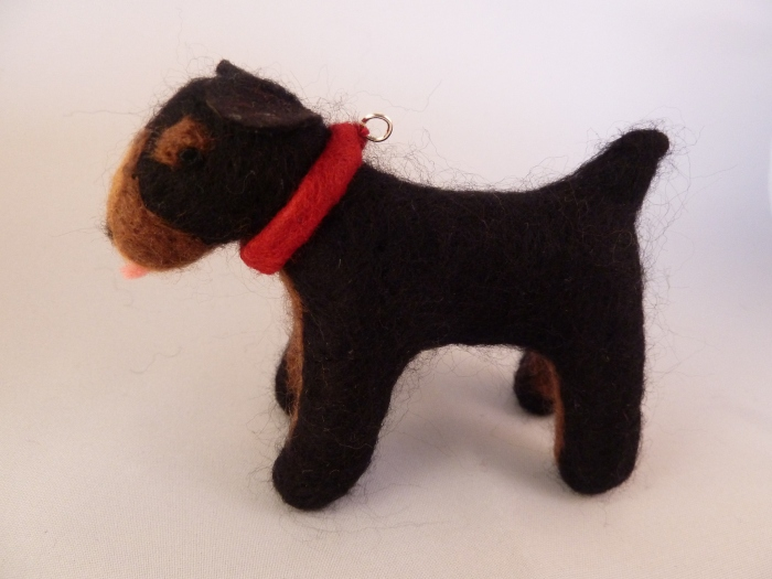 A Canine Companion for our Beastie - CrawCrafts Beasties