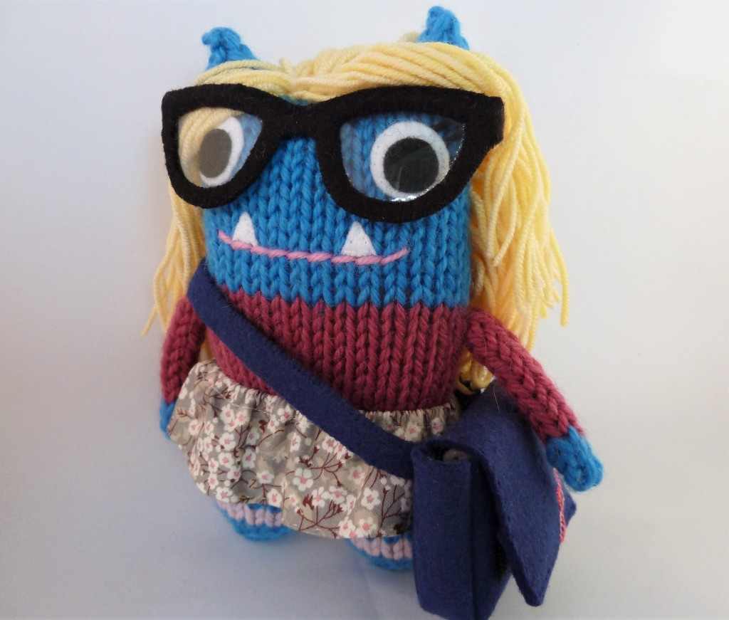 Ballerina Scientist Beastie, a Personalised Commission by CrawCrafts Beasties