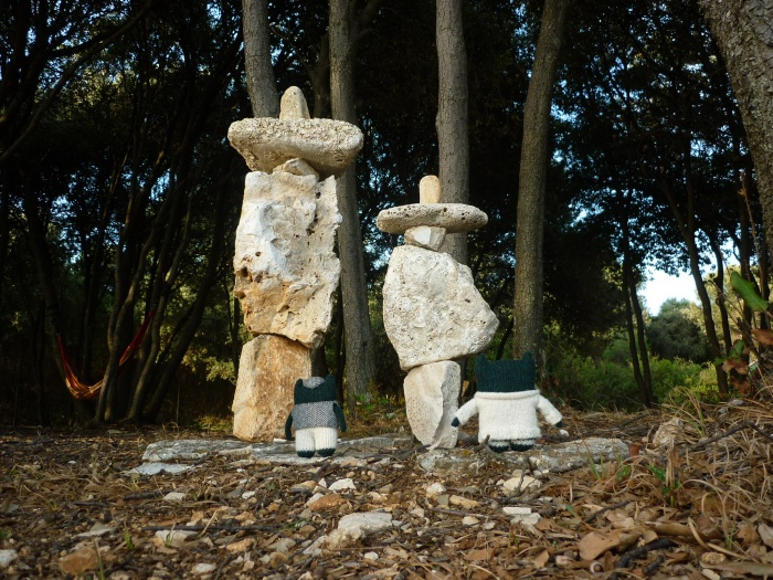Rock Sculptures! H Crawford/CrawCrafts Beasties