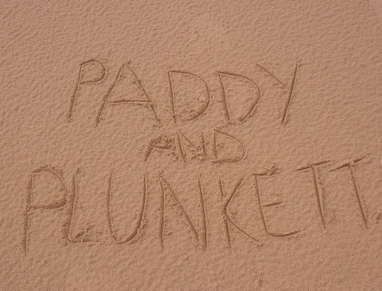 Paddy and Plunkett were here! CrawCrafts Beasties