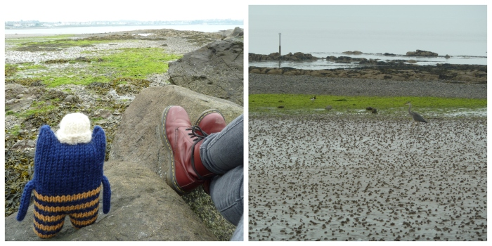 Relaxing on the Beach - Easter Trip - CrawCrafts Beasties