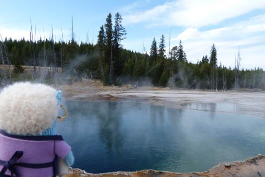 Abyss Pool, Yellowstone - R Crawford/CrawCrafts Beasties