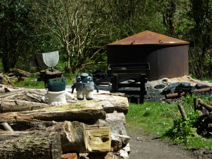 Paddy and Plunkett at the Charcoal Kiln - H Crawford/CrawCrafts Beasties