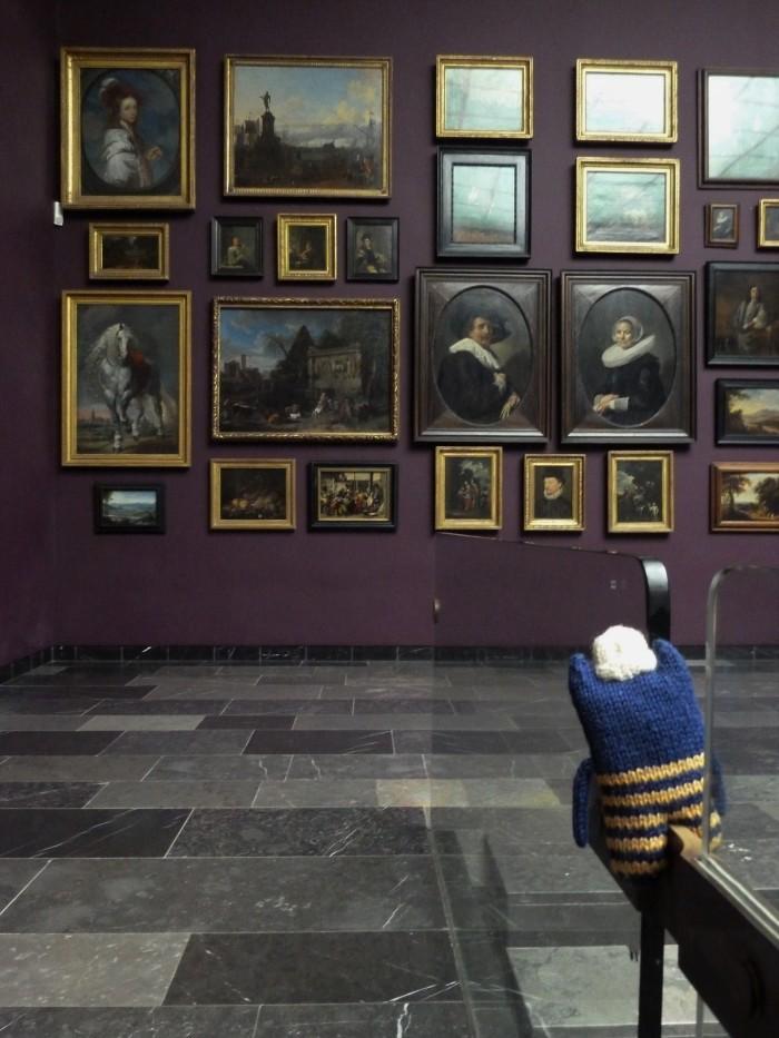 Old Masters at the Staedel Museum, Frankfurt - CrawCrafts Beasties