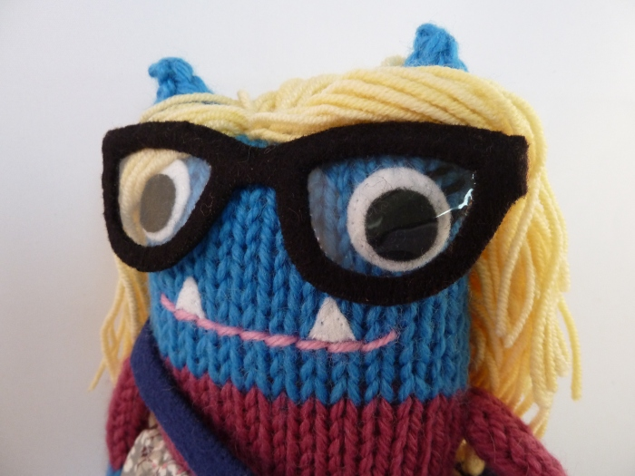 Ballerina Scientist Beastie, Personalised Handmade Gifts by CrawCrafts Beasties