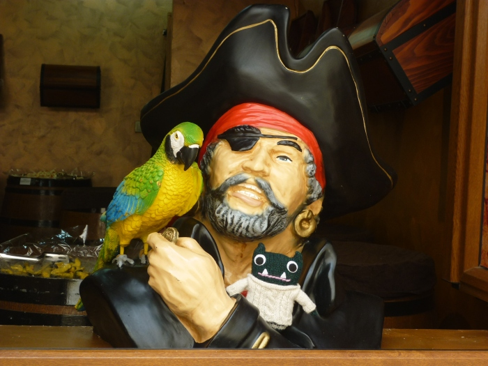 Paddy and the Pirate - H Crawford/CrawCrafts Beasties