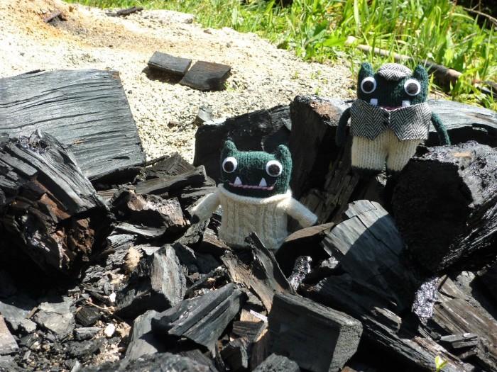 Paddy and Plunkett, Firestarters - H Crawford/Crawcrafts Beasties
