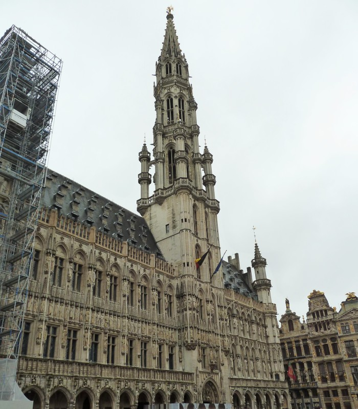 Town Hall, Brussels - CrawCrafts Beasties