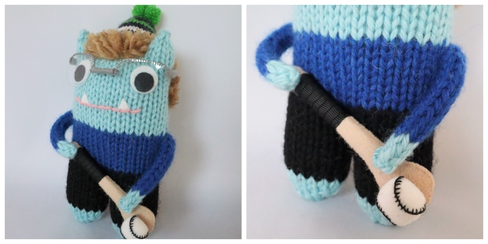 Hurling With Beastie Bruce - Accessories by CrawCrafts Beasties