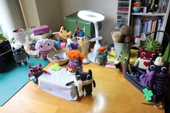 St Patrick's Day Beastie Takeover - CrawCrafts Beasties