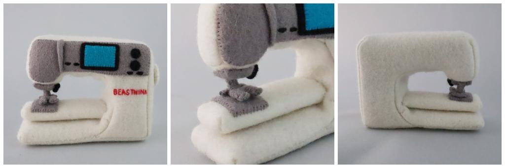 Beastie Sewing Machine - tierneycreates Beastie Accessories - CrawCrafts Beasties