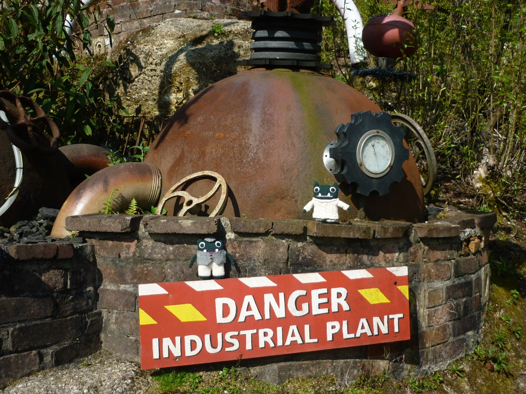 Paddy, Plunkett and the Industrial Flame Plant - H Crawford/CrawCrafts Beasties