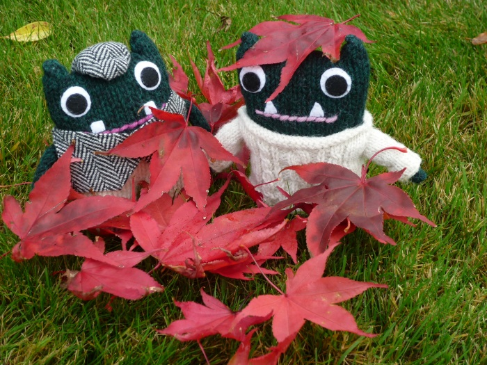 Paddy and Plunkett and the Leaves - H Crawford/CrawCrafts Beasties