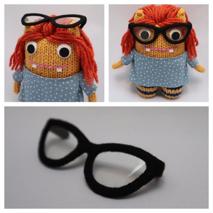 Detective Beastie's Glasses - Commissions - CrawCrafts Beasties