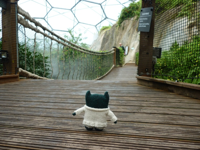 Paddy Tackles the Rainforest Biome - H Crawford/CrawCrafts Beasties