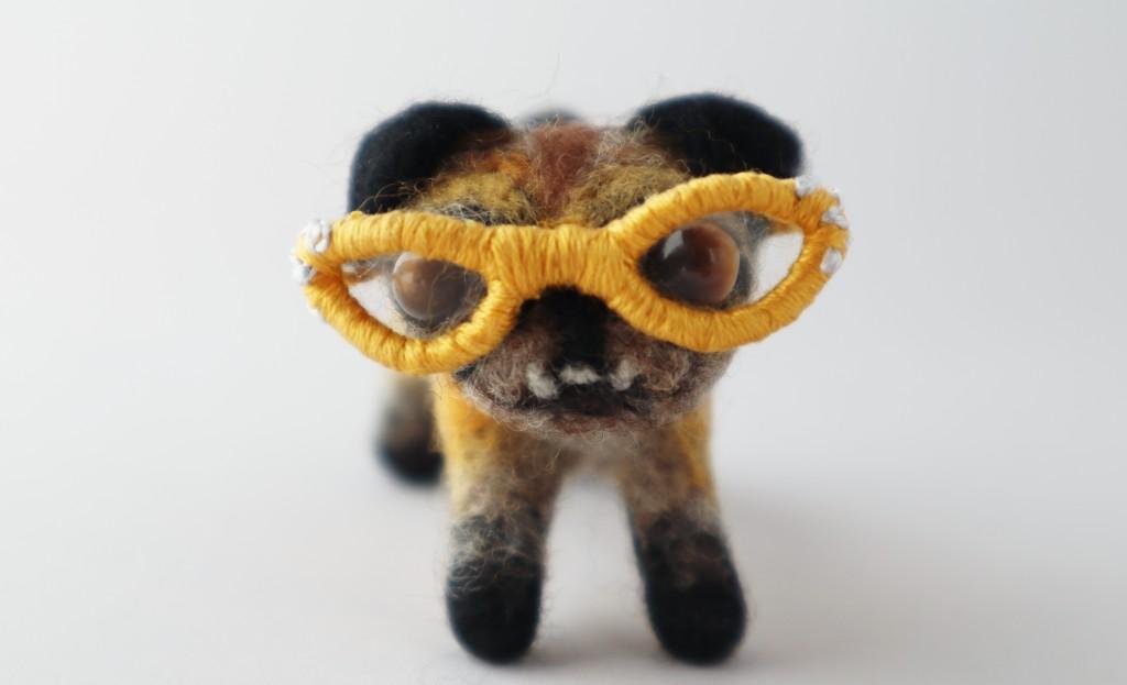 Beastie Marge the Mini Pug - CrawCrafts Beasties