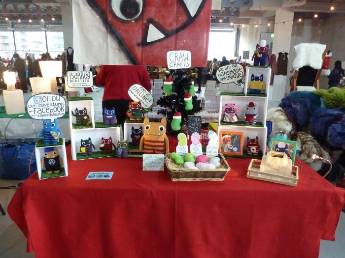 Christmas Flea Stall 2017 - CrawCrafts Beasties