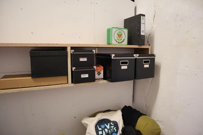 New Studio Shelves! CrawCrafts Beasties