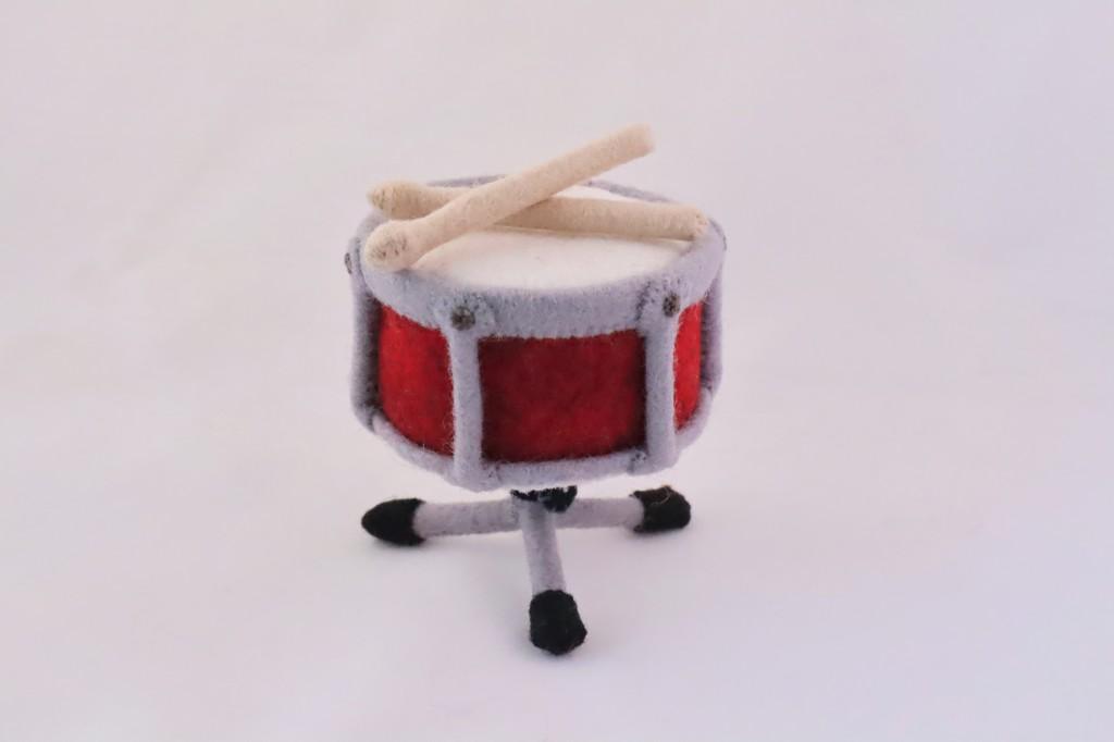 Beastie Drum - Vintage Style Beastie - CrawCrafts Beasties