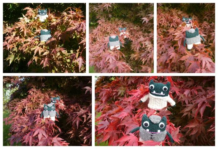 Reddening Leaves - Red October - Paddy and Plunkett - H Crawford/CrawCrafts Beasties
