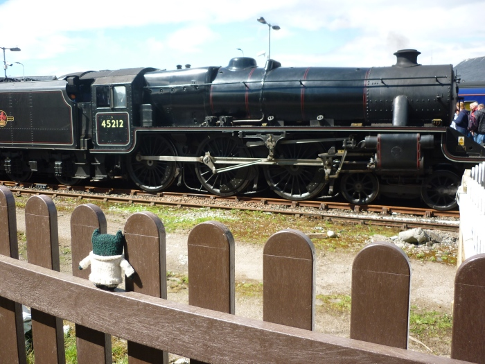 Paddy Finds the Hogwarts Express - H Crawford/CrawCrafts Beasties