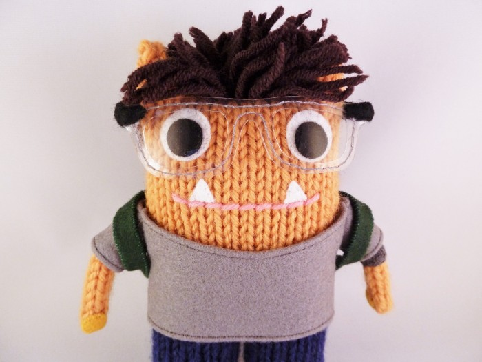 I spy a Backpack! Spencer Beastie, by CrawCrafts Beasties