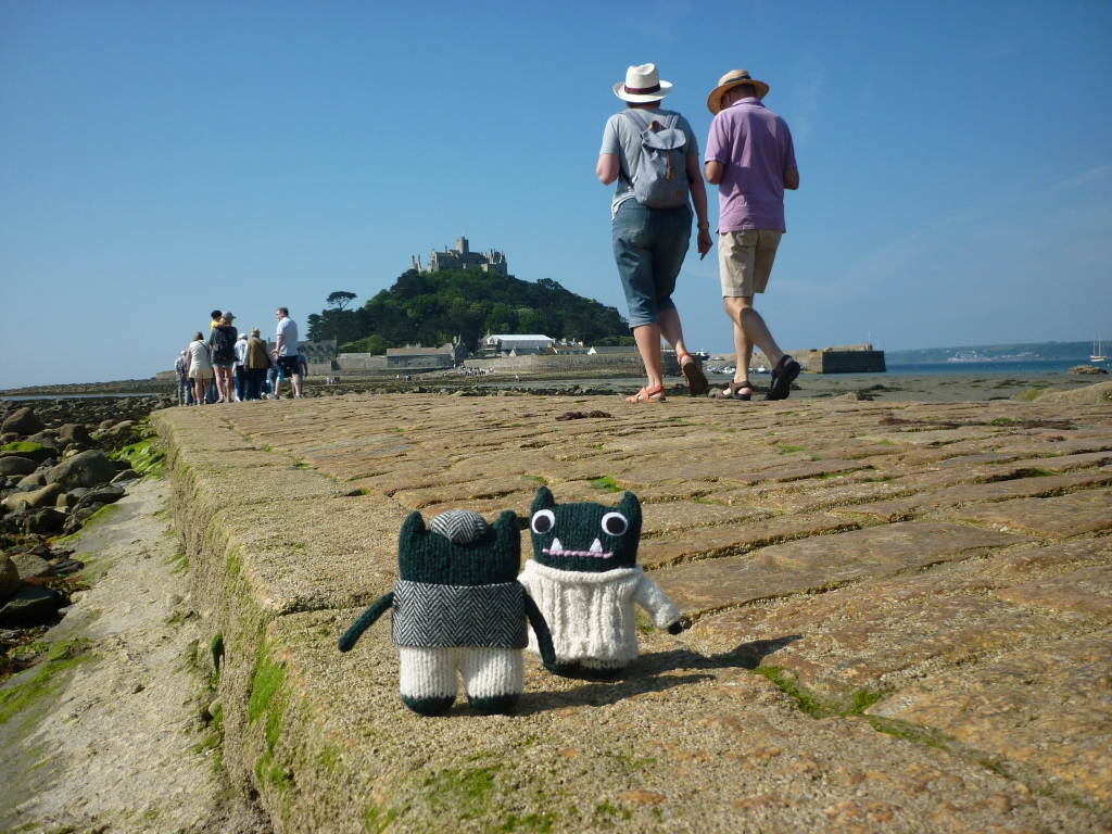 The Causeway at St Michael's Mount