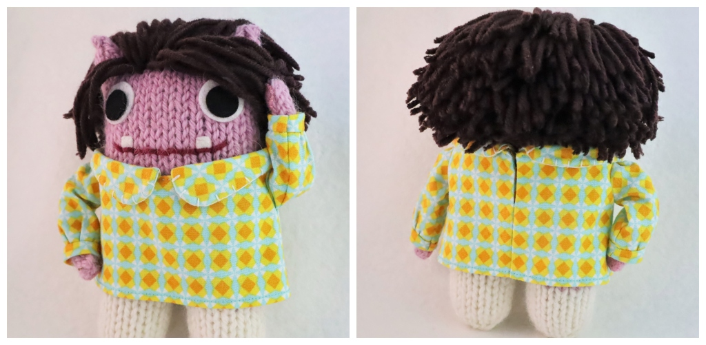 Beastie Dress, front and back - Commissions by CrawCrafts Beasties