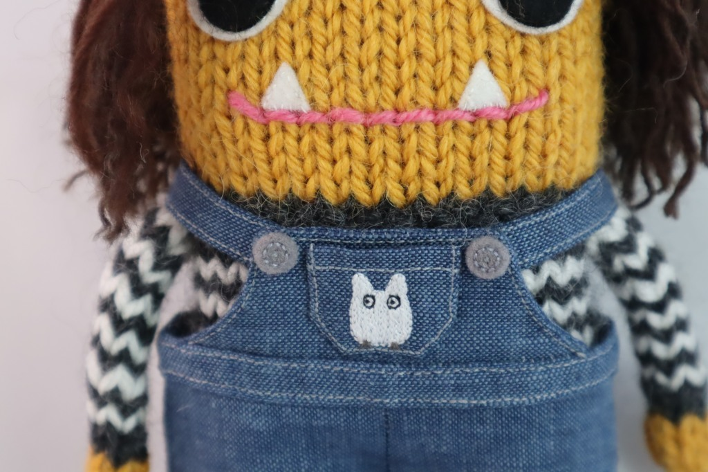 Mini Totoro Embroidery! Commissions by CrawCrafts Beasties
