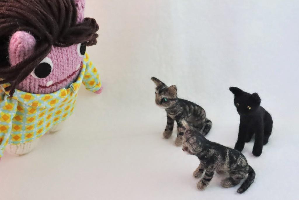 More Beastie cats! CrawCrafts Beasties