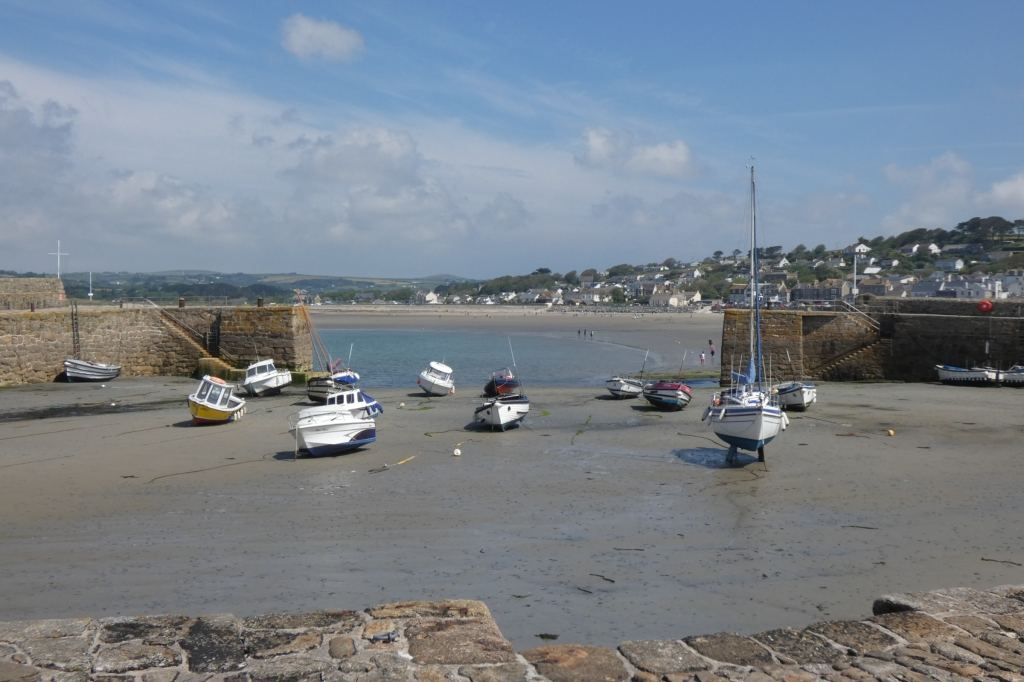 The harbour at St Michael's Mount - H Crawford/CrawCrafts Beasties