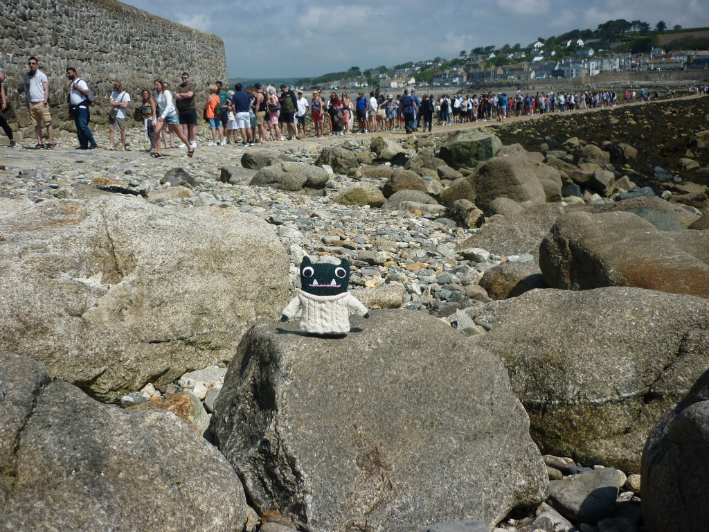 St Michael's Mount gets busy! H Crawford/CrawCrafts Beasties