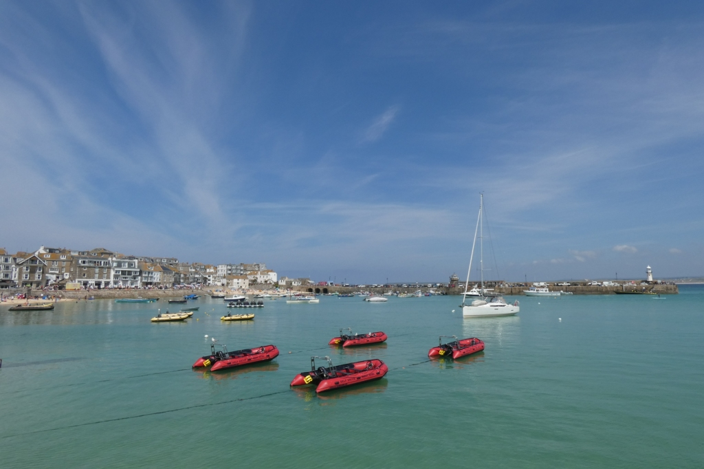 Harbour at St Ives, Cornwall - H Crawford/CrawCrafts Beasties