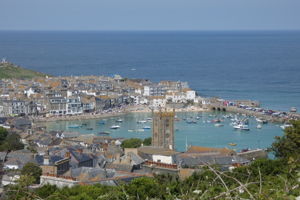 The sunny seaside town of St Ives - H Crawford/CrawCrafts Beasties