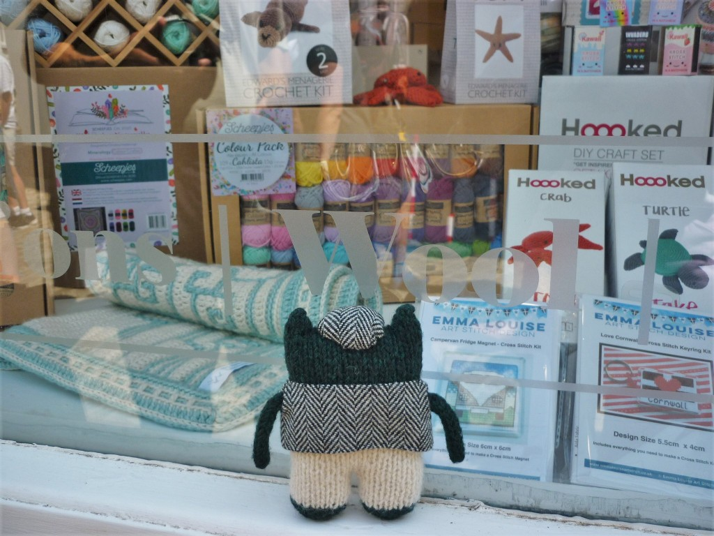 Plunkett at the Wool Shop, St Ives - H Crawford/CrawCrafts Beasties